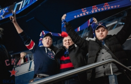 SKA – Spartak. At the match (14.02.2017)