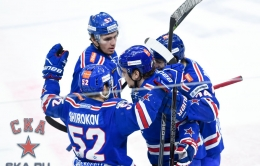 Game two. SKA - Lokomotiv - 4:1 (25.03.2017)