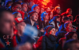 SKA fan zone at Hockey City (27.03.2017)