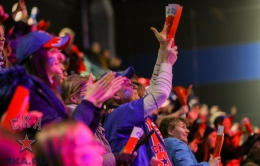 SKA fan zone at Hockey City (29.03.2017)