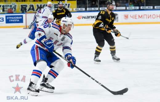 Game four. Severstal - SKA - 0:4 (08.03.2018)