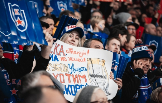 At game one against CSKA Moscow (29.03.2018)