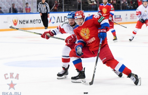 2018 Channel One Cup. Russia - Czech Republic - 7:2 (15.12.2018)