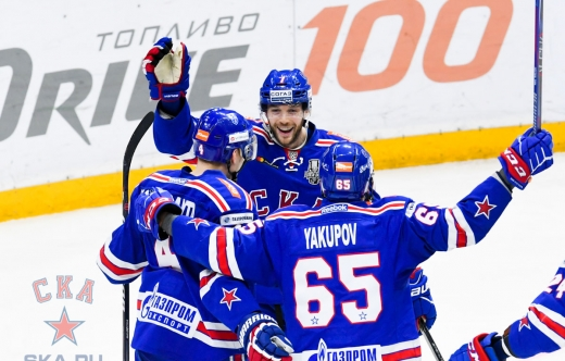 Game one. SKA - Lokomotiv - 1:0 (13.03.2019)