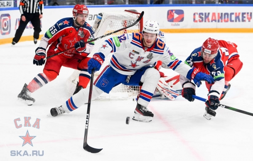 Game one. CSKA - SKA - 3:0 (02.04.2021)