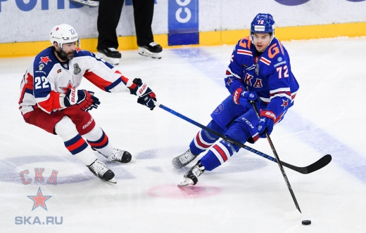 Game three. SKA - CSKA - 2:5 (06.04.2021)