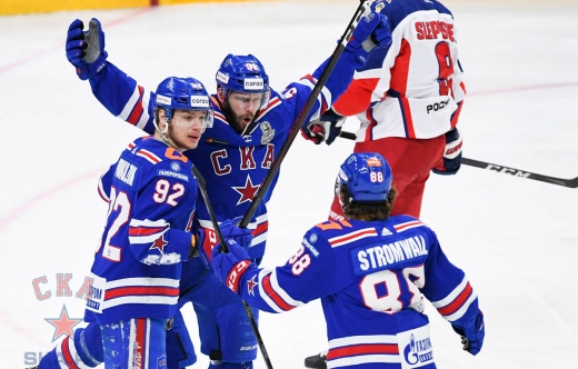 Game four. SKA - CSKA - 3:1 (08.04.2021)