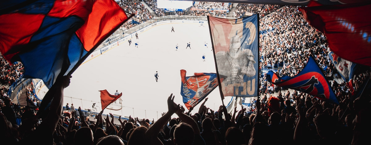 Photos: At game five against Metallurg Magnitogorsk