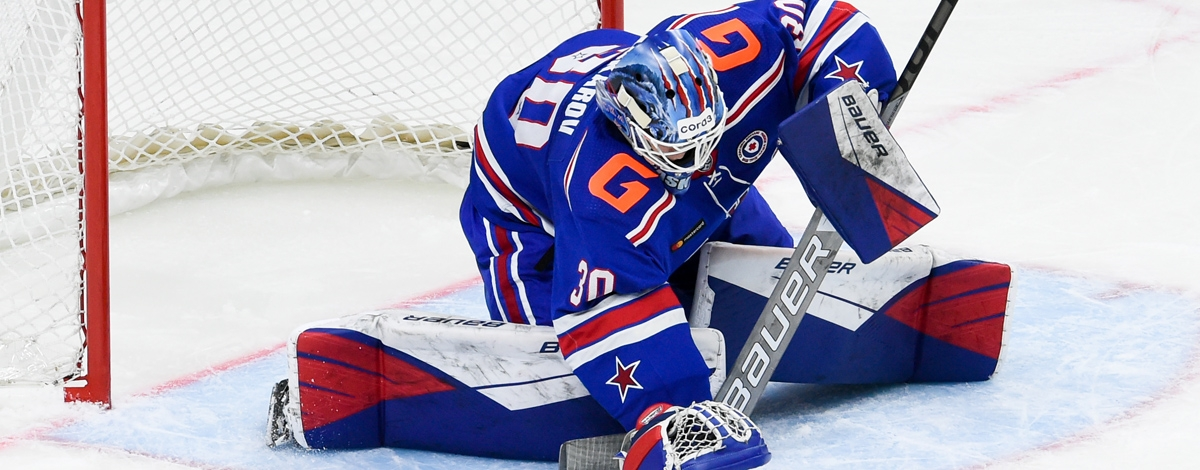 Yaroslav Askarov made the best two saves of the week in the KHL!