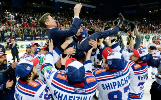 SKA are the KHL Gagarin Cup champions!