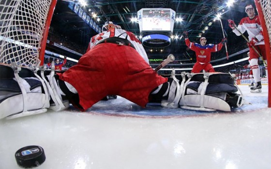World Junior Championship. Russia - Denmark - 4:3 OT