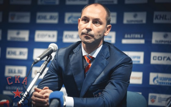 SKA - Dynamo Moscow. Press-conference of game four