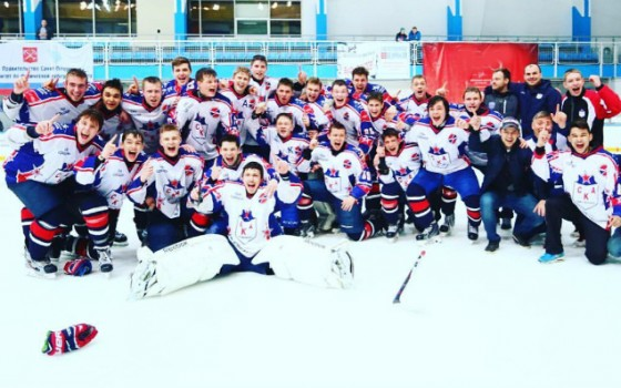 Russian champions have signed for SKA-1946