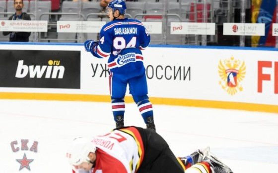 Alexander Barabanov and Maxim Karpov speak about beating Kunlun Red Star
