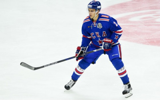 SKA have extended Artyom Zub's contract