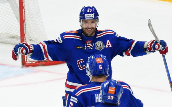 Ilya Kovalchuk is the KHL's best forward of the week