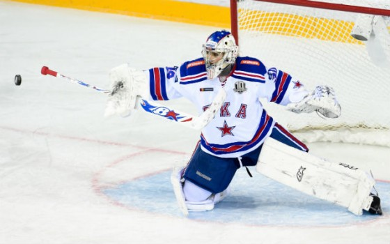 Igor Shestyorkin is the KHL's best goalkeeper of the week!