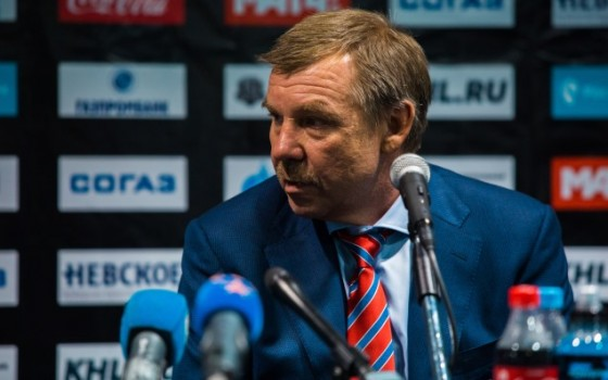 SKA - Salavat Yulaev. Press-conference