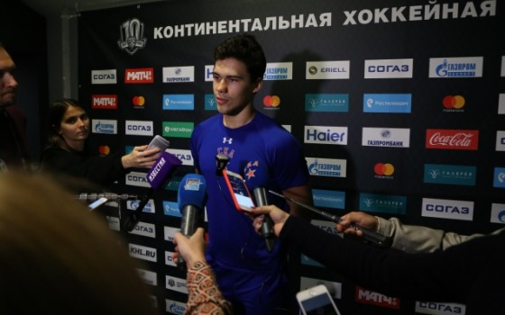Artyom Zub speaks about the victory against Neftekhimik