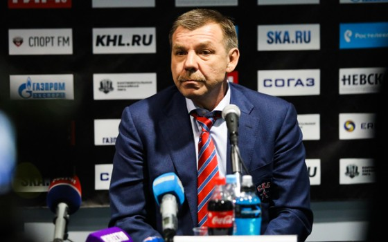 HC Sochi - SKA. Press-conference