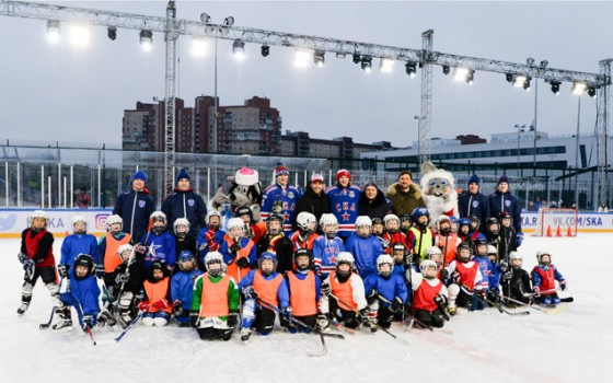 SKA Army participated in an exhibition game