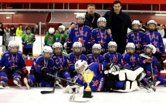 An ice hockey school from Yekaterinburg has joined the SKA Academy