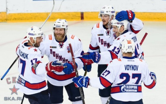 SKA have won the Bobrov Division