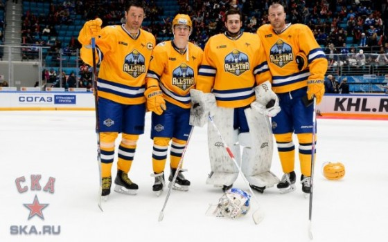 The Tarasov Division won the 2018 KHL All-Star Game