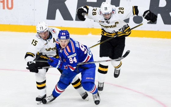 Severstal are SKA's KHL Gagarin Cup playoffs first round opponents