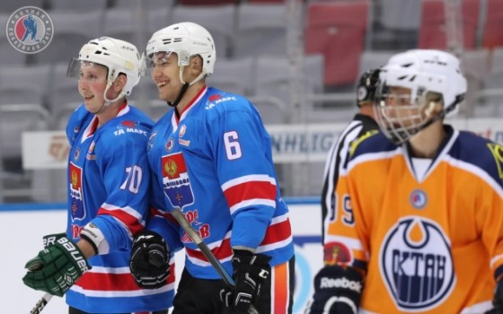 ​The Mars Volkhov team won the Night Hockey League's Small Cup of Dreams