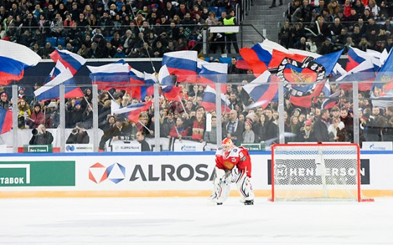2018 Channel One Cup. Russia - Finland - 5:0