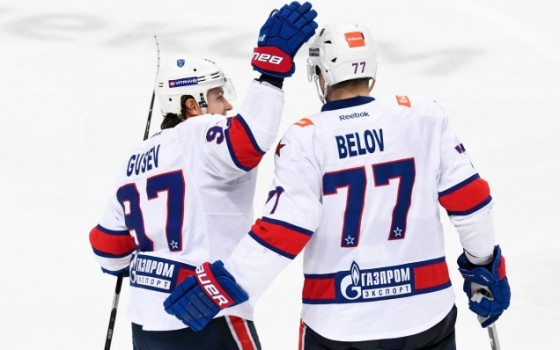 SKA have qualified for the 2018/2019 KHL Gagarin Cup playoffs