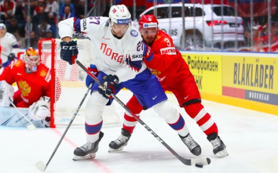 2019 World Championship. Russia - Norway - 5:2