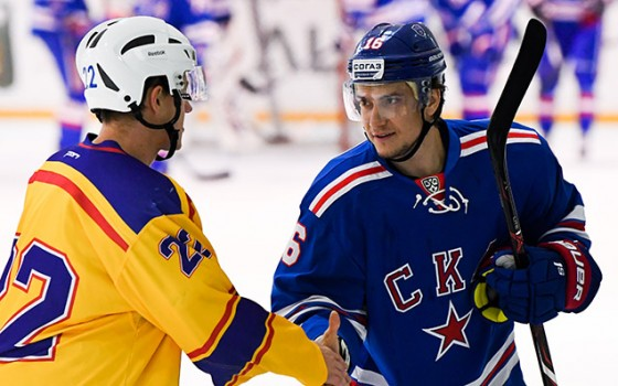 SKA competed in friendly matches in Novogorsk