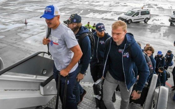 SKA have left for the Sochi Hockey Open