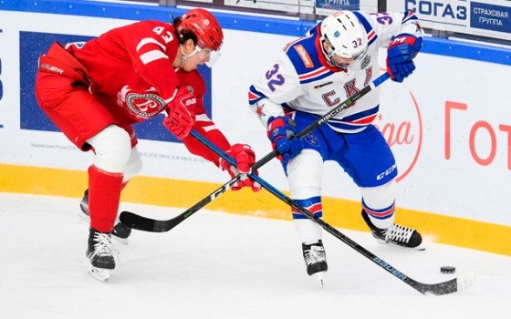 Game four. Vityaz - SKA - 2:3 OT