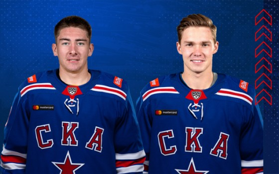 SKA have received the rights to Vladislav Kamenev and Yakov Trenin
