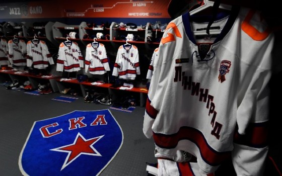 Special Leningrad jerseys for KHL matches in January