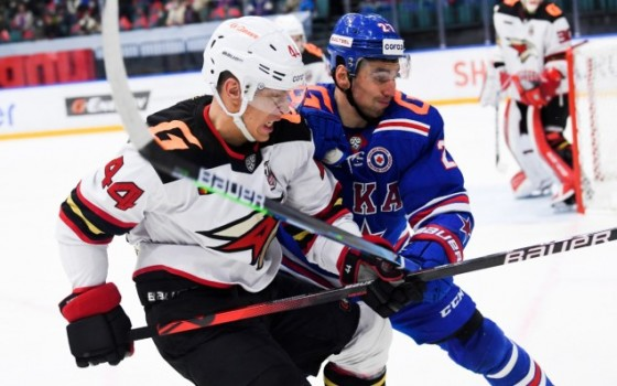 SKA congratulates Avangard Omsk with their victory in the KHL Gagarin Cup playoffs