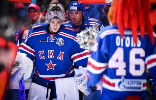 Four SKA players will compete at the KHL All-Star Game