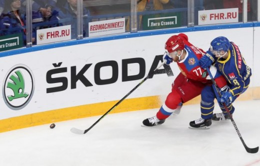 SKA players at the Czech Hockey Games