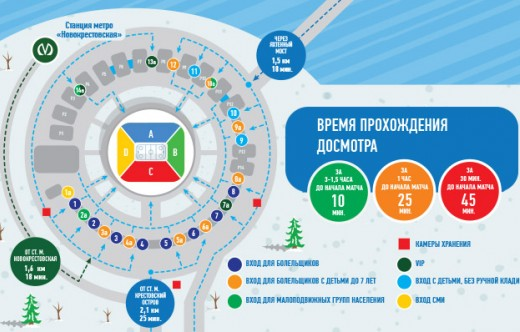 """Hockey Classic. Saint Petersburg 2018."" How to reach the Gazprom Arena"