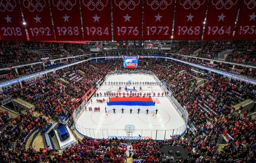 2018 Channel One Cup. Russia - Czech Republic - 7:2