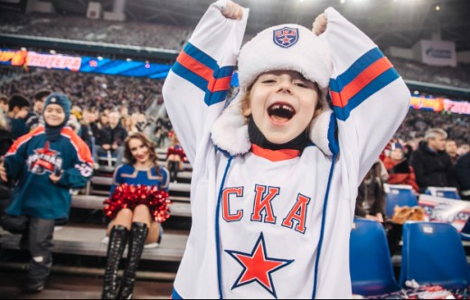 SKA boasts the highest average attendance in the KHL!