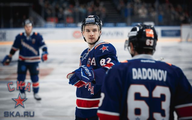 Vadim Shipachyov is the KHL's best forward of the week!