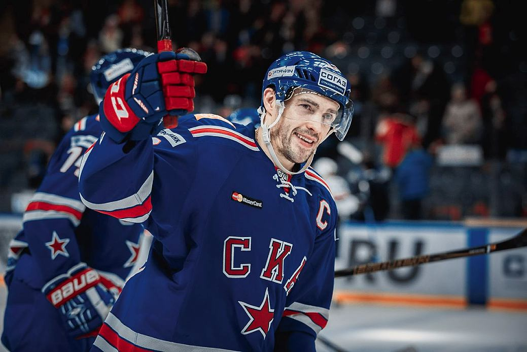Pavel Datsyuk is the Bobrov Division's captain for the All-Star Game