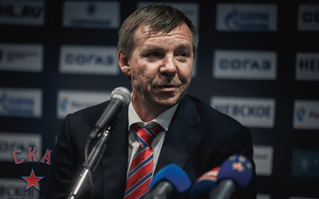 SKA - Dynamo Moscow. Press-conference of game five