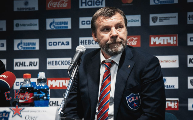 SKA - Lokomotiv. Press-conference of game two