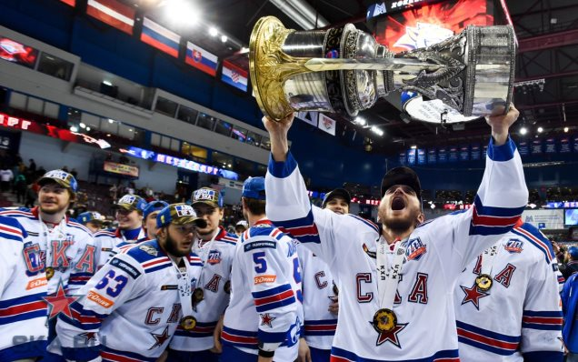 SKA speak about the Gagarin Cup victory