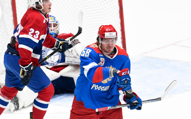 ALROSA Cup. Norway - Russian Olympic team - 2:8